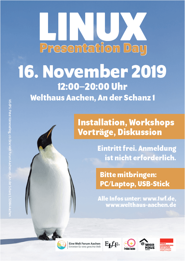 Linux Pday 16 11 2019